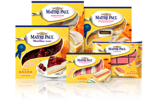 Maître Paul Packaging Design