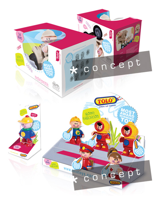 toys packaging concepts