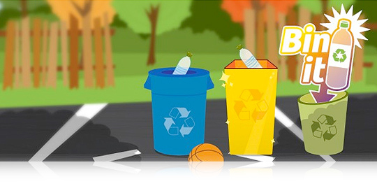 Bin It! A new recycling game for iPhone and iPad