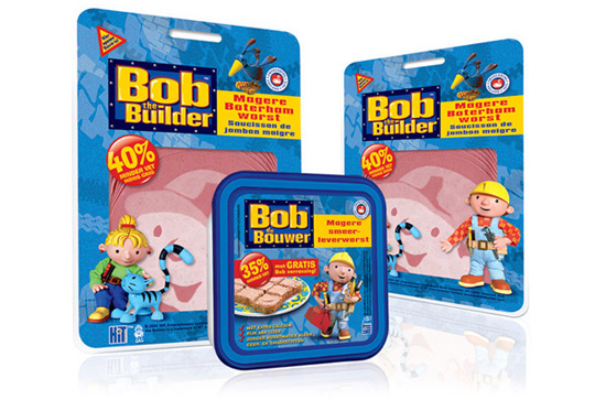 Bob the Builder Bob de Bouwer Packaging