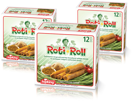 Topking Rotiroll Packaging Design Stepfive