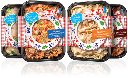 Aldi Smakelijk Gemak packaging design Stepfive