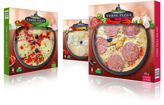 Packaging design Stepfive Aldi Mama Mancini