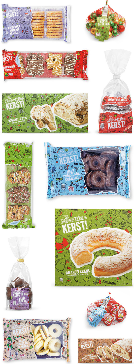 Christmas packaging design Aldi Stepfive
